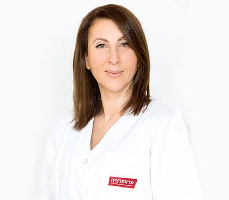 """ד""""ר אנה בן אלי טיפולי צערה ועיצוב הפנים פרופורציה"""